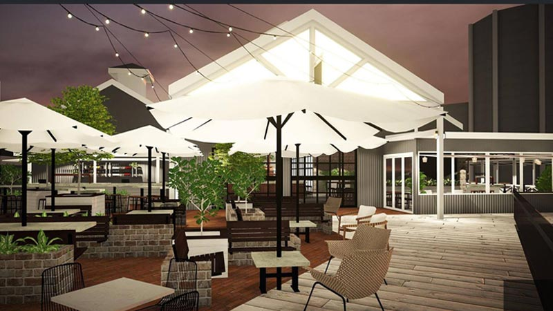 The Dock, Mooloolaba Wharf. Opening early December.